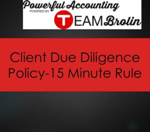 client-due-diligence-policy-15-minute-rule