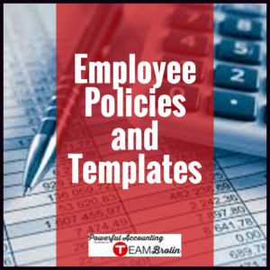 Employee Policies and Templates - Various Packages